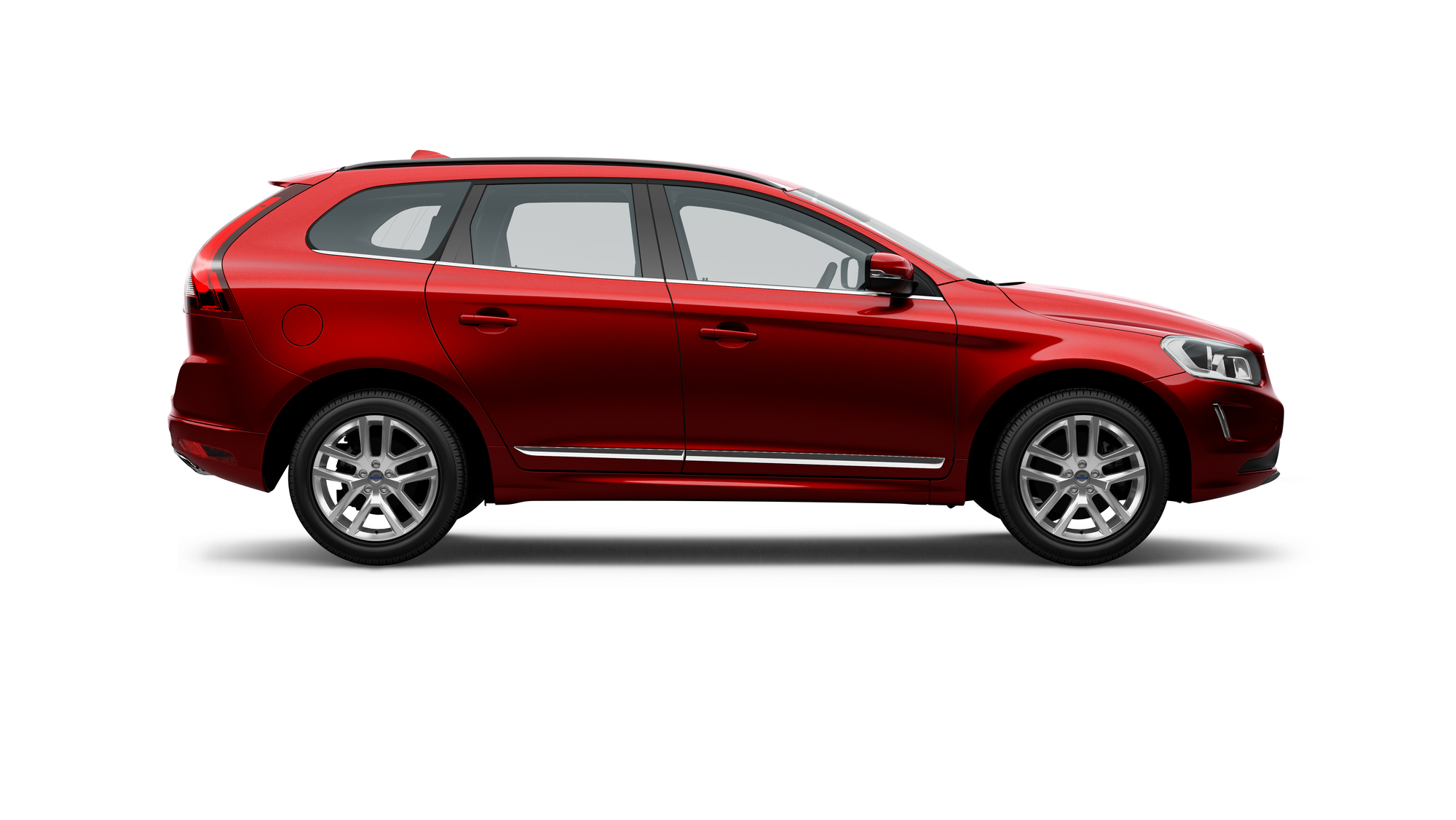 2017 Volvo Xc60 Red 200 Interior And Exterior Images