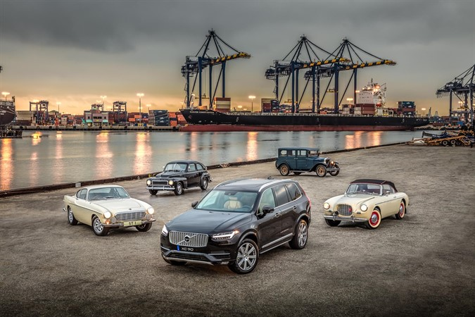 Volvo's 60th anniversary celebration