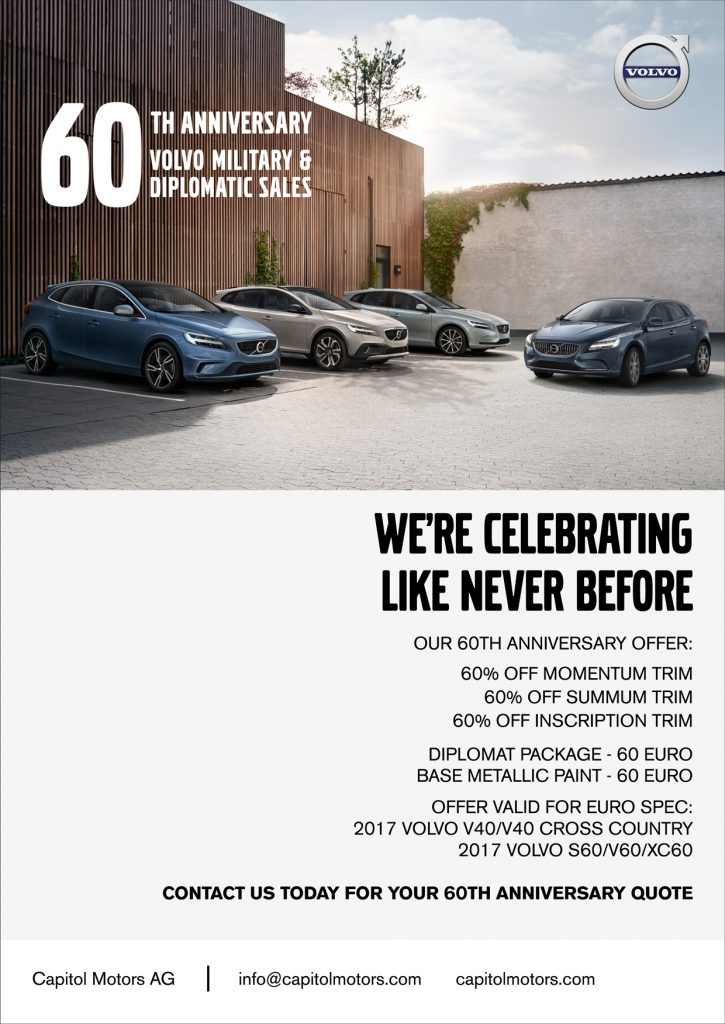 Capitol-Motors-V40-60TH-Anniversary-Special-Offer