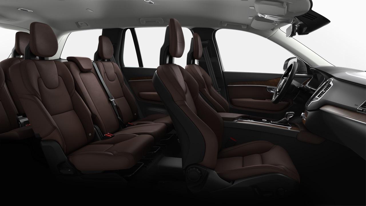Capitol_Motors_2019_Volvo_XC90_ Agnes-Leather_RC30-Maroon-Brown - Capitol MotorsCapitol Motors