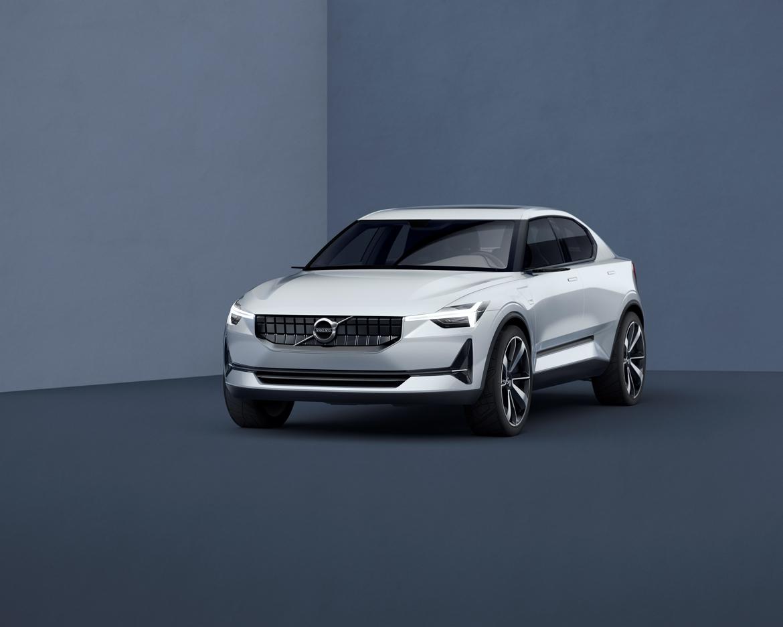 Volvo Concept 40.2 front quarter low