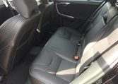 Back seats of the Volvo V60
