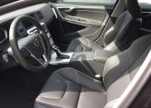 Front seats of the Volvo V60