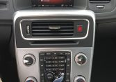 Inside of the Volvo V60