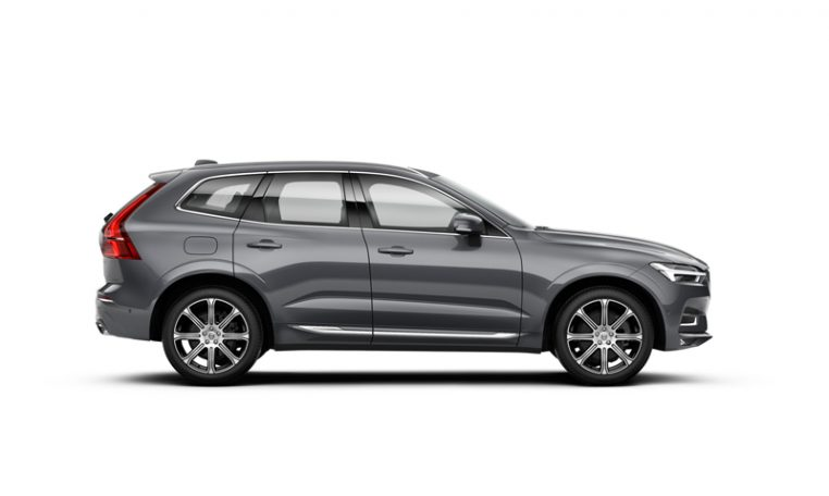 Side photo of the Volvo XC60 Inscription in Osmium Grey