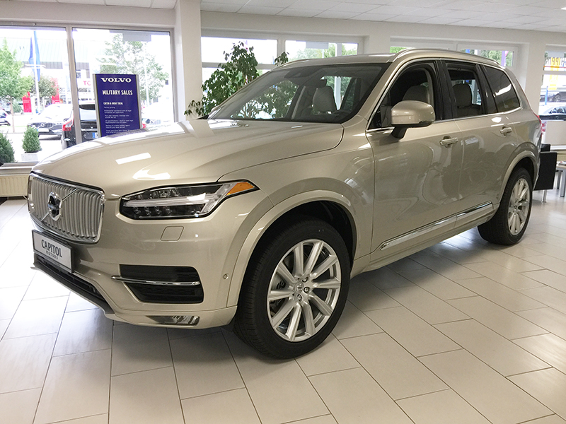 Car Seat Trade In 2017 >> 2018 Volvo XC90 T6 AWD Inscription - 1703622 - Capitol Motors