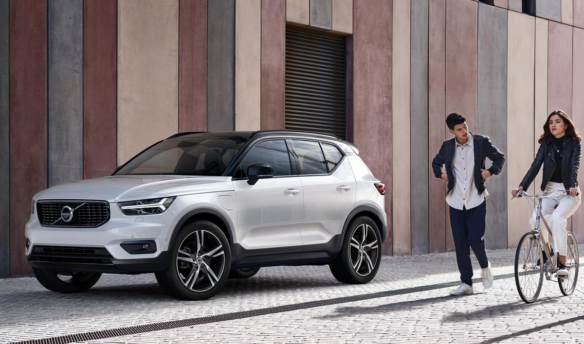 Volvo Cars New Xc40 Delivers A Confidence Inspiring Suv Designed For City Living Capitol Motors