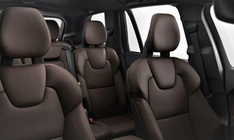 Capitol Motors Volvo XC90 Maroon Brown Leather