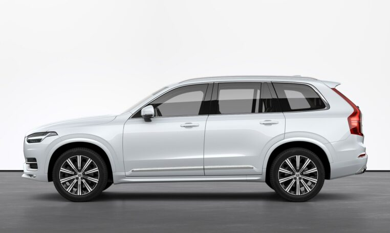 Capitol Motors Crystal White XC90